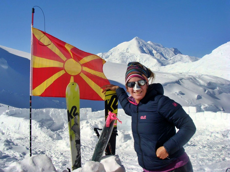 "Mission ""Seven Summits"" completed by a Macedonian woman"
