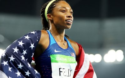 Who can now compare to Allyson Felix?