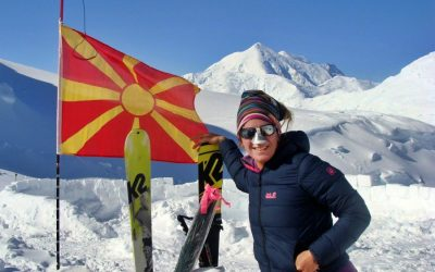 """Mission """"Seven Summits"""" completed by a Macedonian woman"""